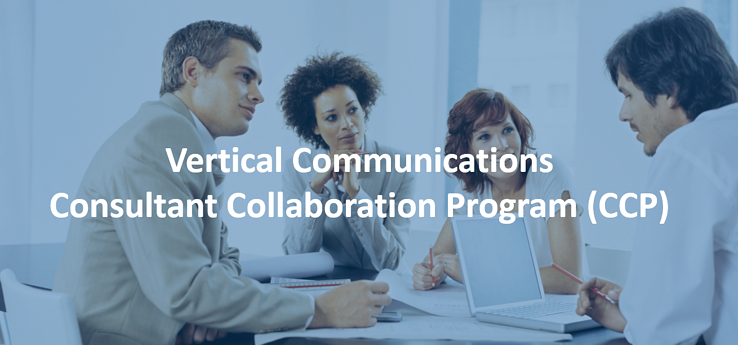 Vertical Communications Consultant Collaboration Program CCP